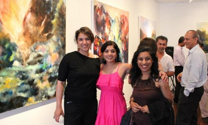 Asma Arshad Mahmood at left
