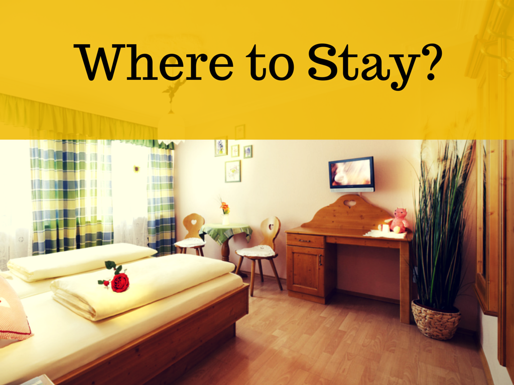 Where to stay 92
