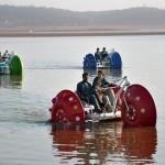 Boat ride at Rawal Lake