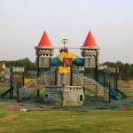 Play area for kids at Fatima Jinnah Park