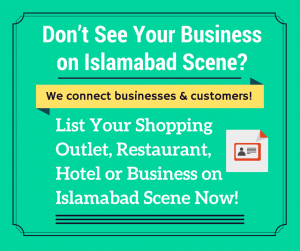 List Your Business at Islamabad Scene Now!