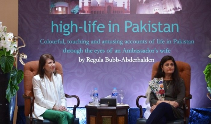 Regula Bubb- Abderhalden's book launch in Islamabad