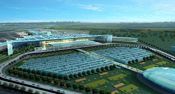 New Islamabad airport visual deisgn
