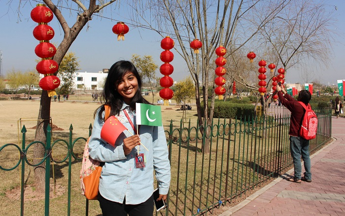 Pakistani students celebrate China Culture Day in Islamabad