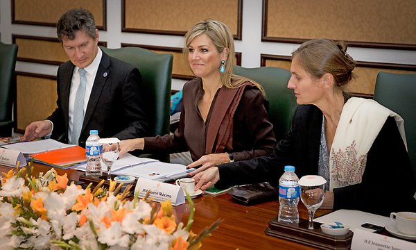 Dutch Queen Máxima in Islamabad