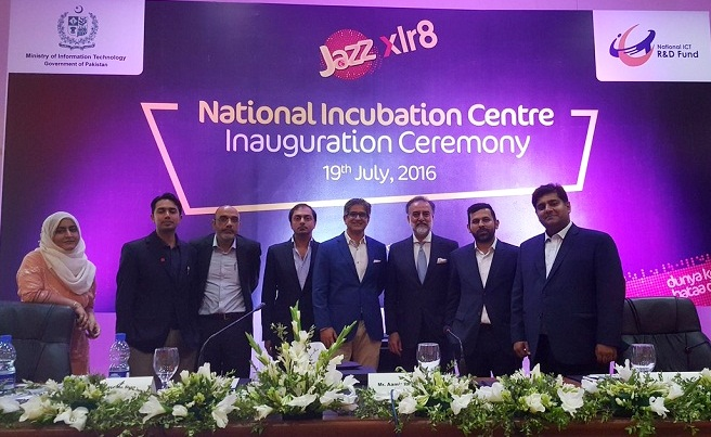 Jazz launches National Incubation Center in Islamabad