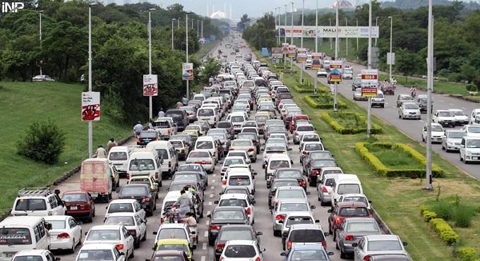 islamabad traffic
