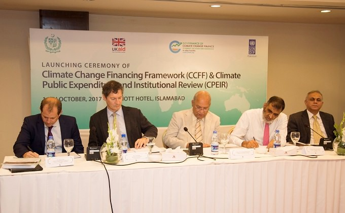 Climate Change Financing Framework Pakistan