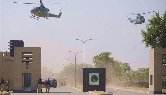 GHQ to be shifted to Islamabad at cost of Rs  100 billion