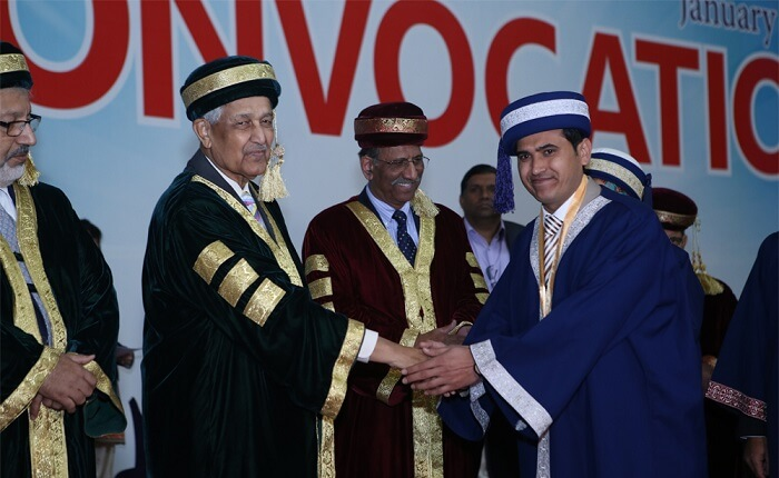 Legendary nuclear scientist and national hero Dr. Abdul Qadeer Khan was the Chief Guest of the Convocation of STMU