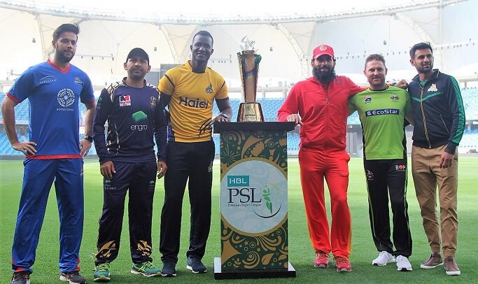 Pakistan Super League 2018 trophy unveiled in Dubai