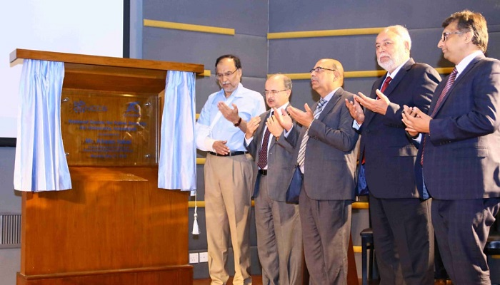 Federal Minister for Interior Ahsan Iqbal inaugurated Pakistan's first-ever National Centre for Cyber Security (NCCS) in Islamabad (2)