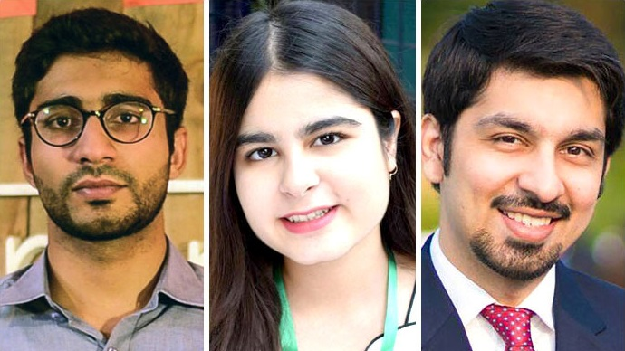 Three Pakistanis receive Queen's Young Leaders award in UK