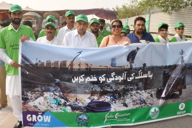 Beat Plastic Pollution campaign organized by CDA and Oxfam in Islamabad