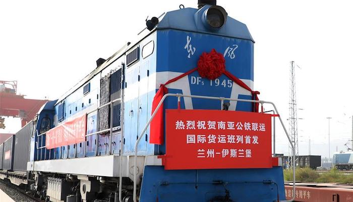 China launches rail & road cargo service linking Lanzhou with Islamabad