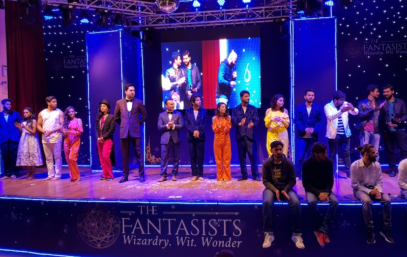The Fantasists mesmerize Islamabad with illusions and magic