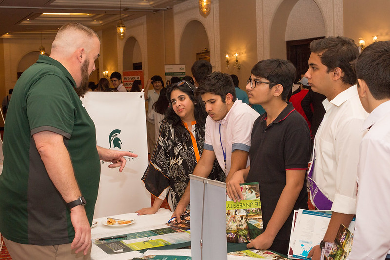 Representatives from 25 U.S. universities met with thousands of students and their parents across Pakistan