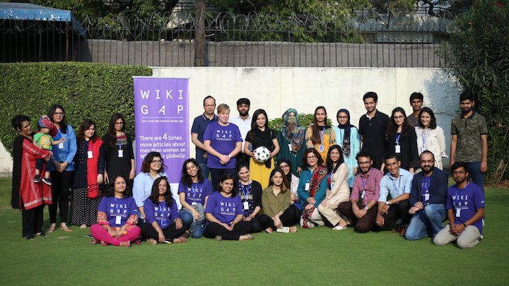 WikiGap puts more Pakistani women on Wikipedia. Initiative by Sweden embassy in Pakistan