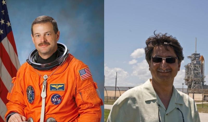 Nasa astronaut visits IST in Islamabad