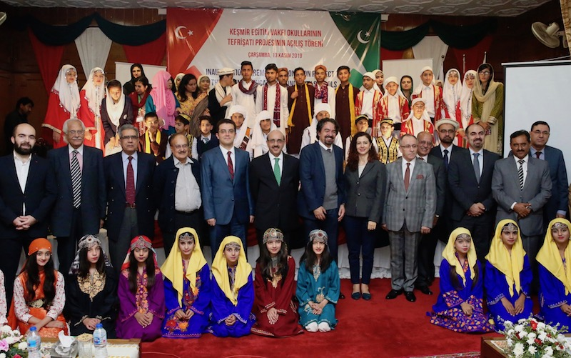 Turkey state aid agency has furnished two schools of Azad Jammu and Kashmir (AJK) in Rawalakot and Banjosa regions where around 550 students are studying.