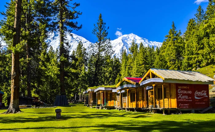 View of the Killer Mountain, the Mighty Nanga Parbat, from the Fairy Meadows, Pakistan. Nanga Parbat is the ninth highest peak in the world. Credit: Musab (Creative Commons)
