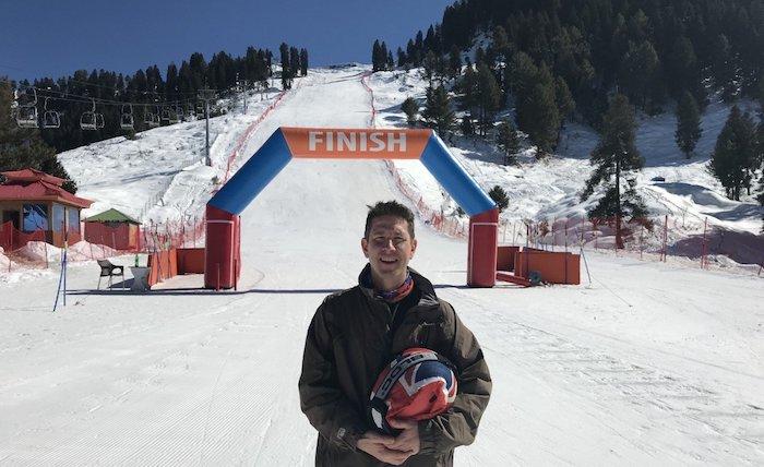 British High Commissioner Dr Christian Turner led the UK team in the Karakoram International Alpine Ski Cup 2020, held in Malam Jabba, in the Swat Valley.