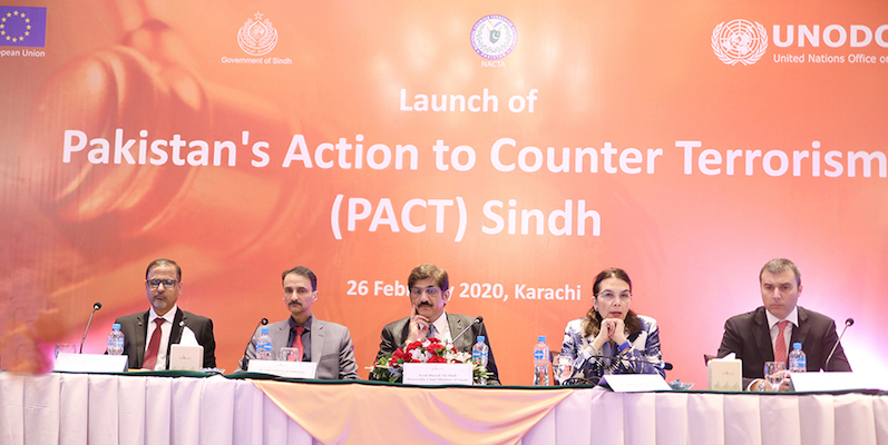 Counter-terrorism project launched in Pakistan with support from EU and UNODC