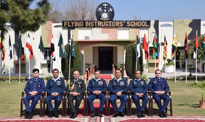 The graduation ceremony was held for Azerbaijan Air Force pilots trained in Pakistan