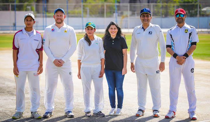 Dennis help raise over Rs1 million for girl cricketers in Karachi