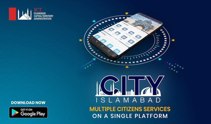 City Islamabad app launched to facilitate the residents of the capital city