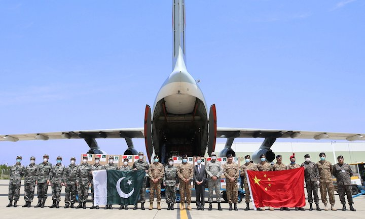 China sent military medical teams to Pakistan to combat COVID-19