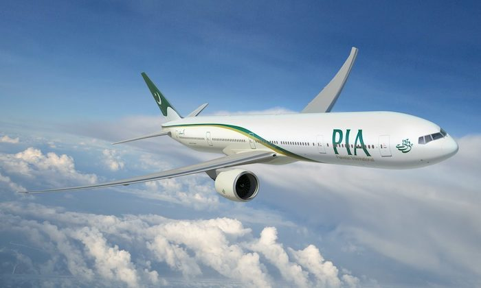Pakistan International Airlines (PIA). Photo - Boeing